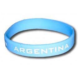 Bracelet Argentine en silicone