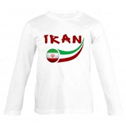 T-shirt Iran enfant manches...