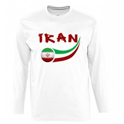 T-shirt Iran manches longues