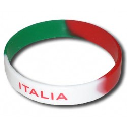 Italy rubber bracelet