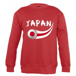 Sweat Japon enfant col rond