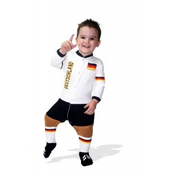 Germany baby footysuit