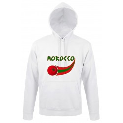 Morocco hooded sweatshirt