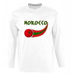 T-shirt Maroc manches longues