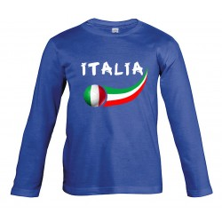Italy junior long sleeves...