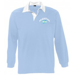 Argentina long sleeves polo