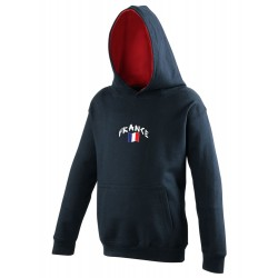 France junior hooded...