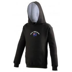 New Zealand junior hooded...