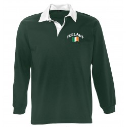 Ireland long sleeves polo