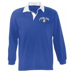 Italy long sleeves polo