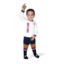 England baby footysuit