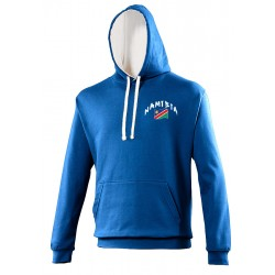 Sweat capuche bicolore Namibie