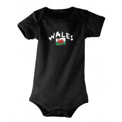 Wales baby bodysuit