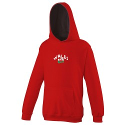 Wales hooded sweatshirt